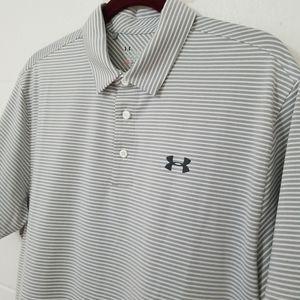 Under Armour HeatGear Loose Golf Polo Golf Shirt